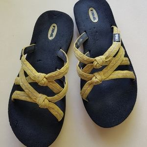 👣 Teva Kena knot flip flop slippers sandals - 5